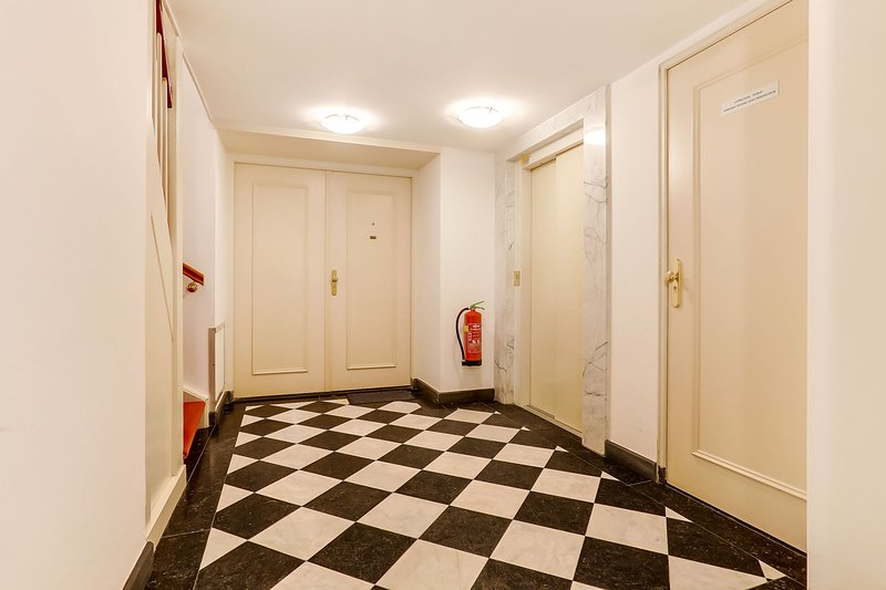 Entrance elevator downstairs