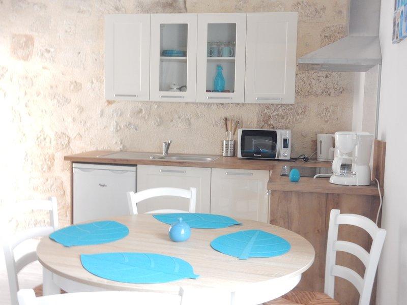 Bel appartement au centre du village d'Aubeterre