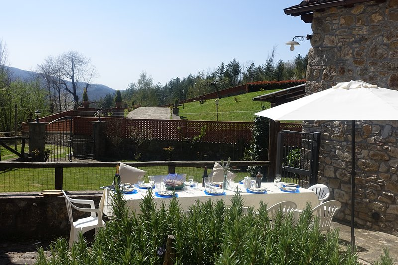 Lucca-BORGOVECCHIO-Charming c17th House w/Mountain Views- WIFI - small Pool, holiday rental in Lucca