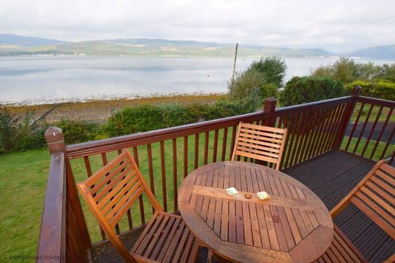 Trefoil by Loch Fyne, holiday rental in Cairndow
