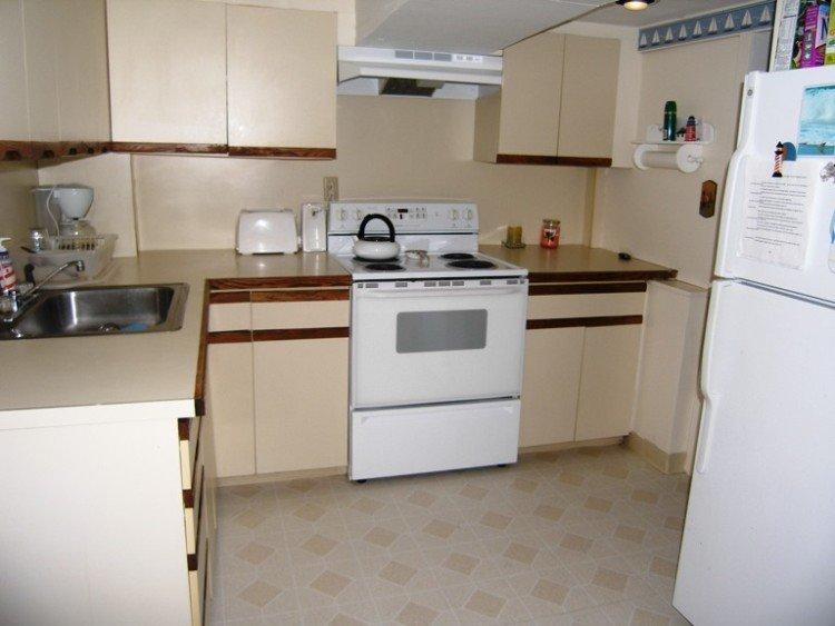Kitchen at 1