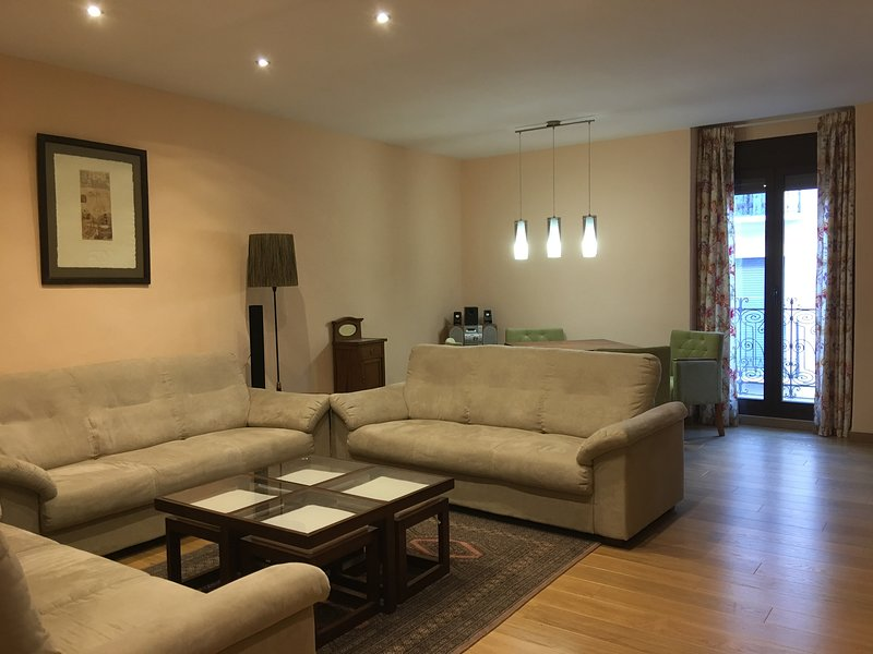 Precioso apartamento al lado de la catedral para 10 o 12 personas, holiday rental in Berdun