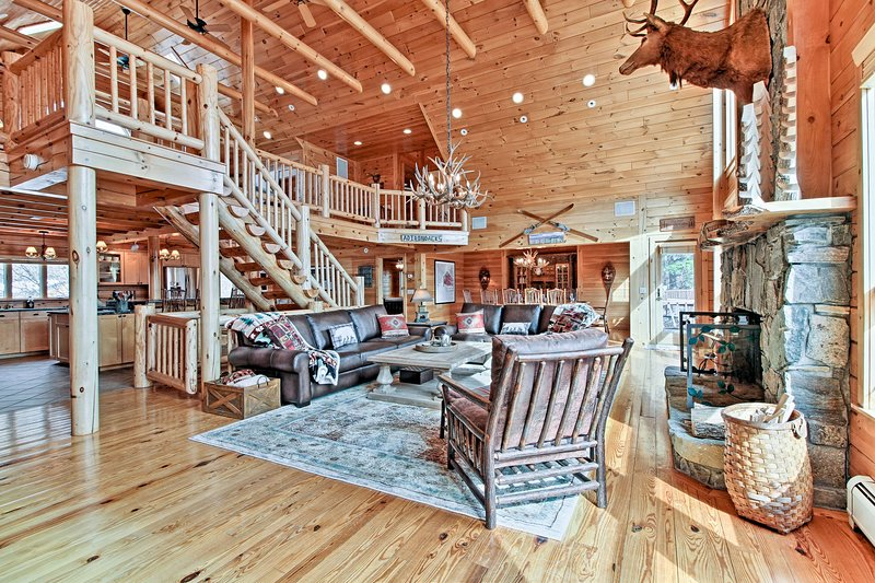 Unwind at this 4-bedroom, 3.5-bathroom vacation rental home in Ticonderoga.