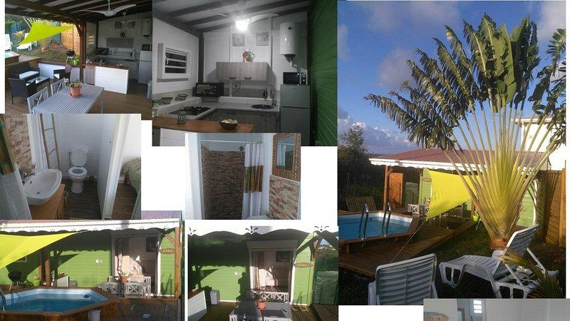 Bungalows La Zanoli, servicios de calidad, zonas verdes, piscina privada
