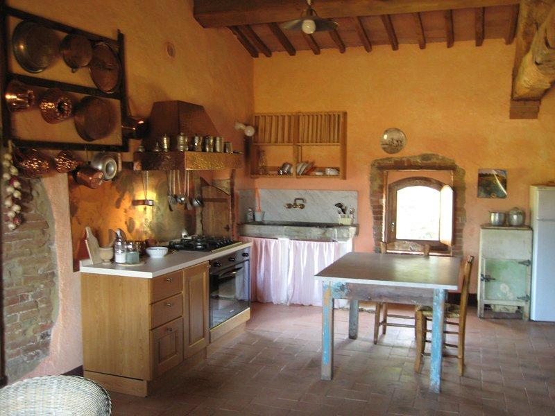 la Casa - Agriturismo con piscina tra Siena e Grosseto, holiday rental in Civitella Paganico