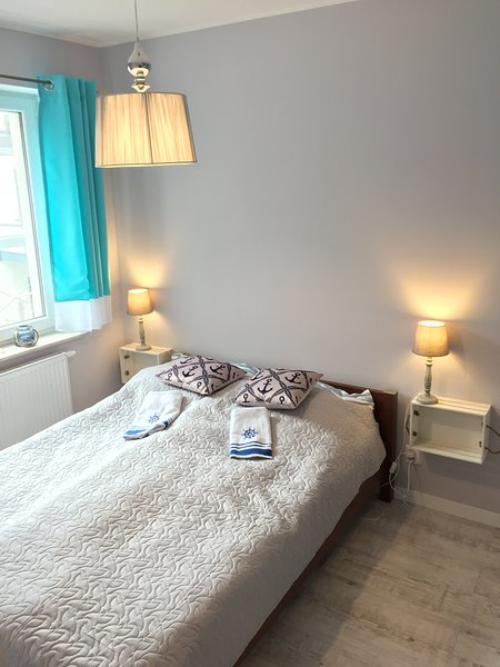 Apartment 'The sound of the sea' in Jantar, holiday rental in Jantar