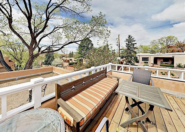 Terrasse sur le toit