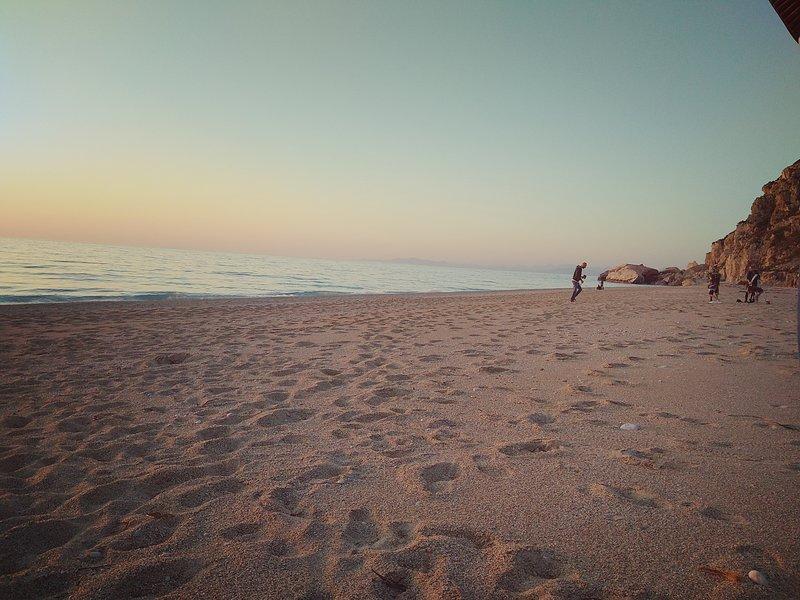 praia Kathisma é inferior a 20 minutos de distância