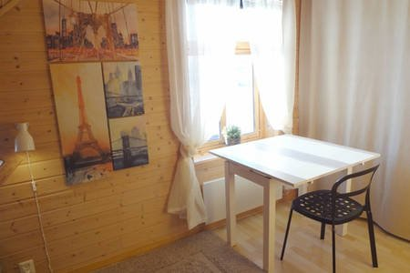 Fully equipped flat, 2 bedrooms, FREE car parking., alquiler de vacaciones en Trondelag