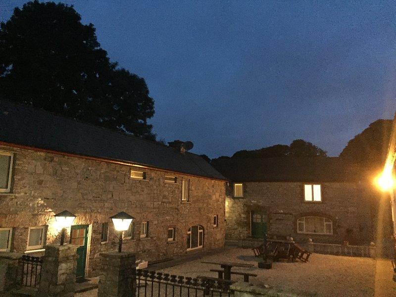 Courtyard (Night-view)