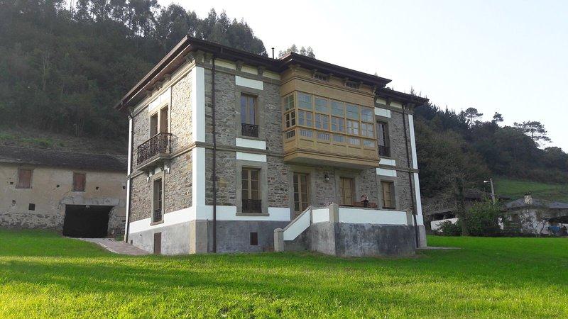Galería con vistas al valle