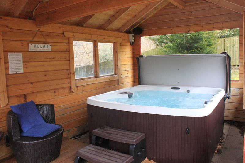 Birchwood Lodge, Loch Tay - Private Hot Tub+Sauna, holiday rental in Loch Lomond and The Trossachs National Park