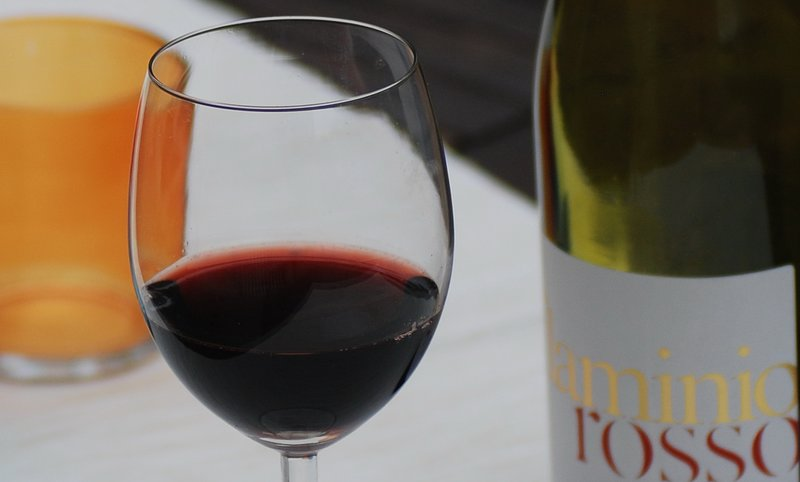 A small glass of Sangiovese can not hurt ...