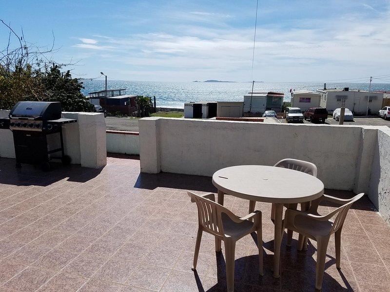 Terrasse mit schönem Meerblick