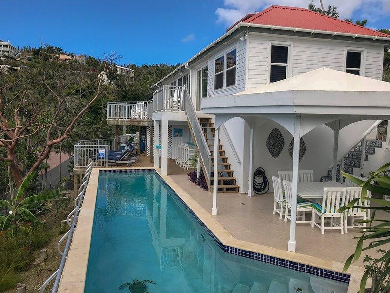 Gorgeous STJ Villa Now Available!  Villa Mangaade (Mango Lane), vacation rental in Virgin Islands National Park