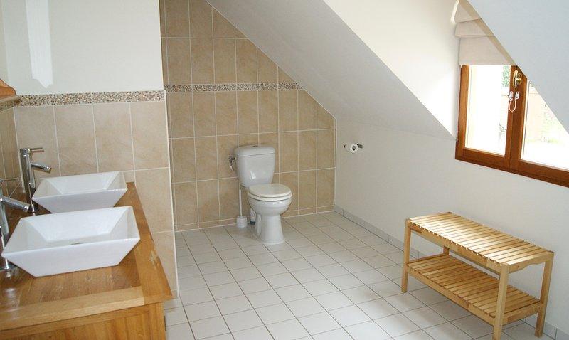 salle de douche prive pour chambre famille A