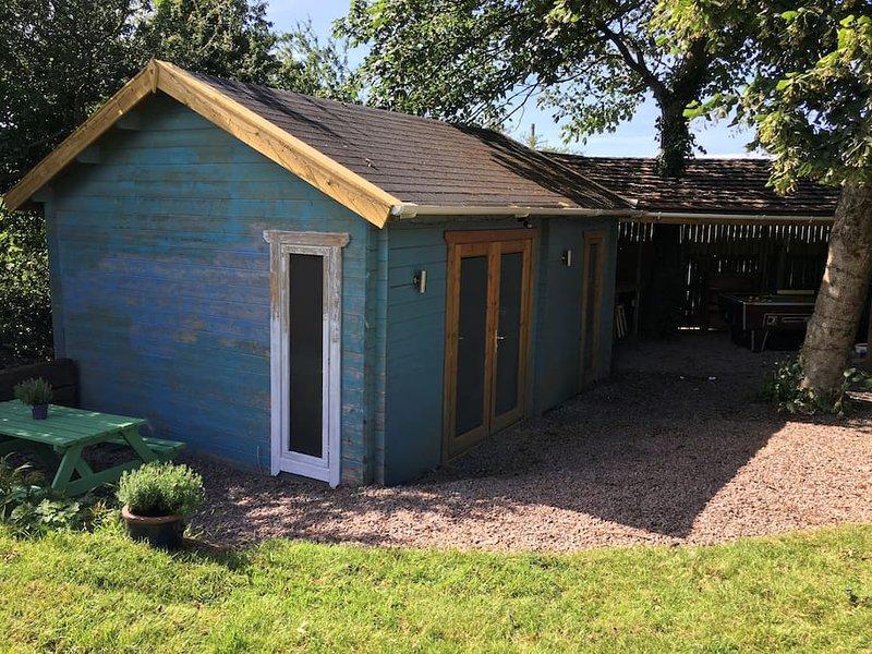The Cabin at Wester David, Ferienwohnung in Georgeham