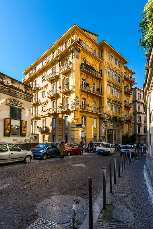 Building Exterior: View From The Street (Via Del Parco Margherita)