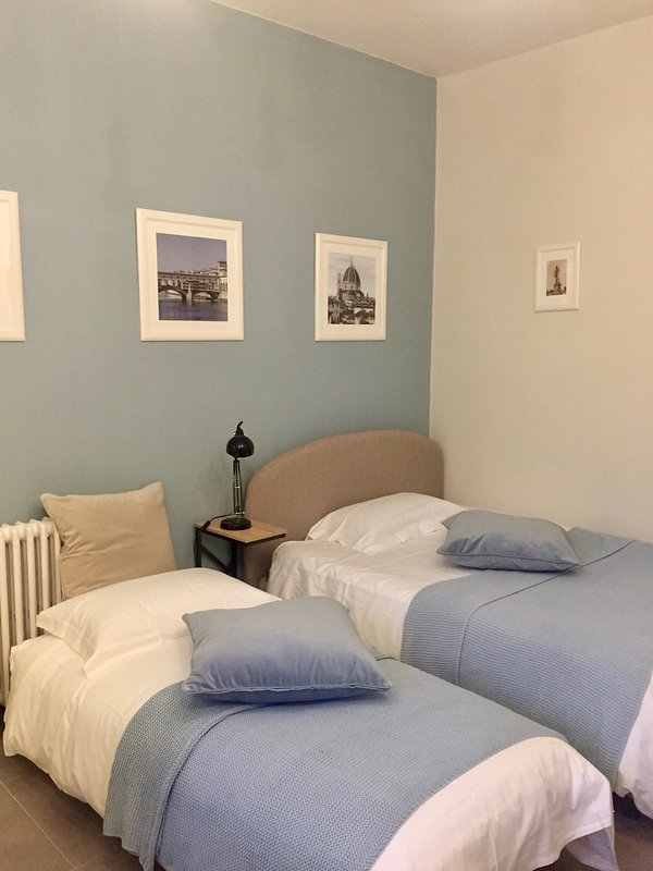 Bedroom: Possibility to have Doube bed or one double bed and one single bed