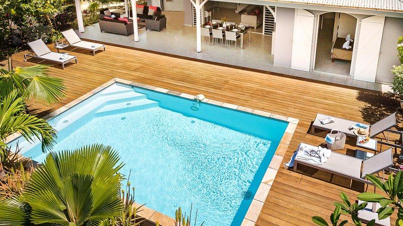 Palm Villas : 8 villas 5* en Martinique avec piscine privée, vacation rental in Le Vauclin