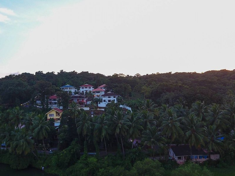 Situated on a hillock in Britona by the Mapusa river are these Vacation Homes in North Goa