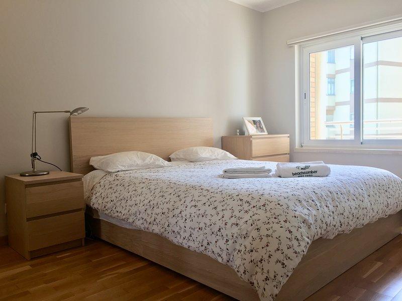 La chambre avec lit duble