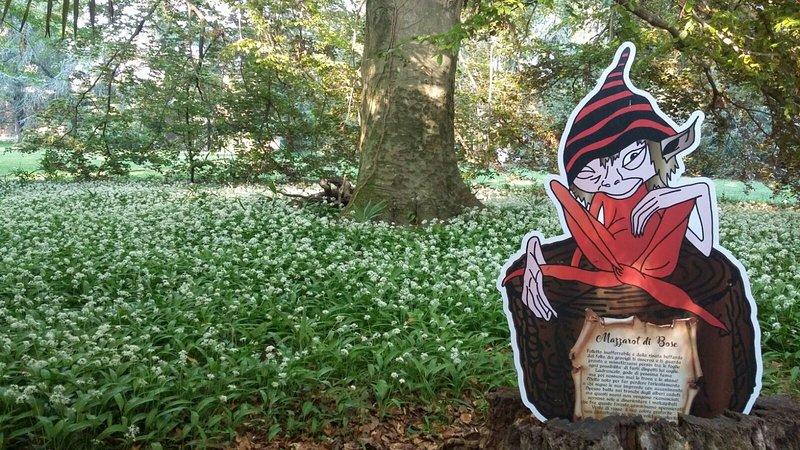 Une vue du parc enchanté mazzarot de bosc entouré de Ursino d'ail