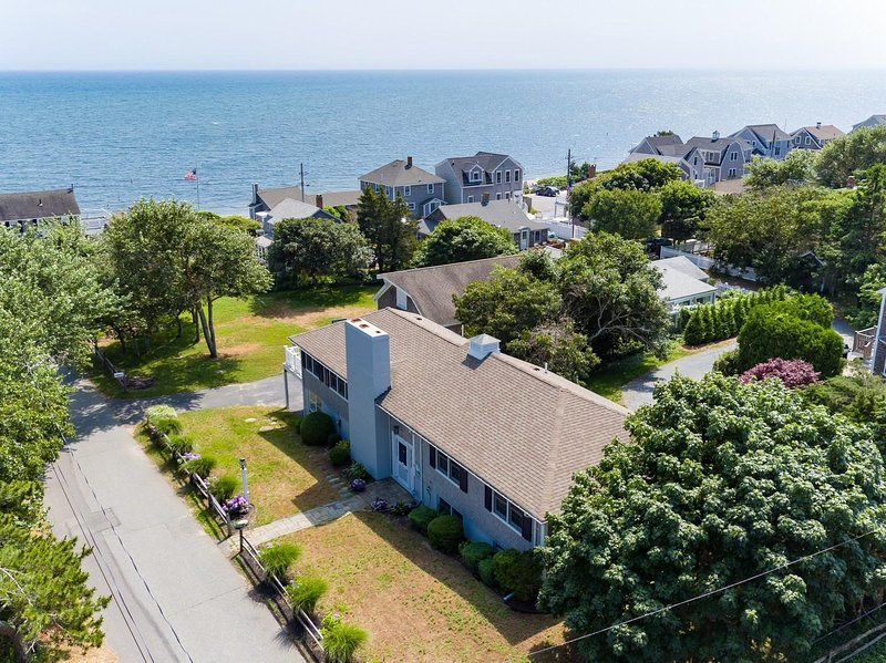 View of the home on the corner of Pine Street and Atlantic Street - 10 Pine Street Harwich Port Cape Cod - New England Vacation Rentals
