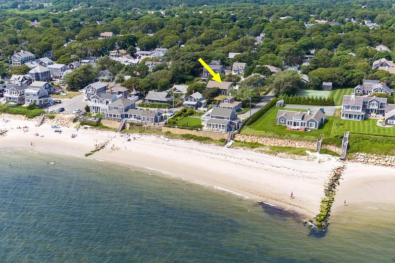 Talk about location! Just 500 feet to Atlantic Street Beach and 0.3 mile into the heart of Harwich Port! - 10 Pine Street Harwich Port Cape Cod - New England Vacation Rentals