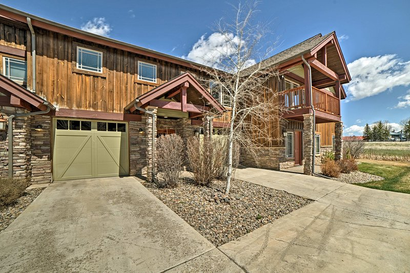 Escape to Pagosa Springs and stay at this luxurious vacation rental townhome.