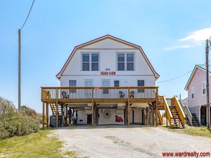 Beach Barn Upper Oceanfront Amp Pet Friendly Updated