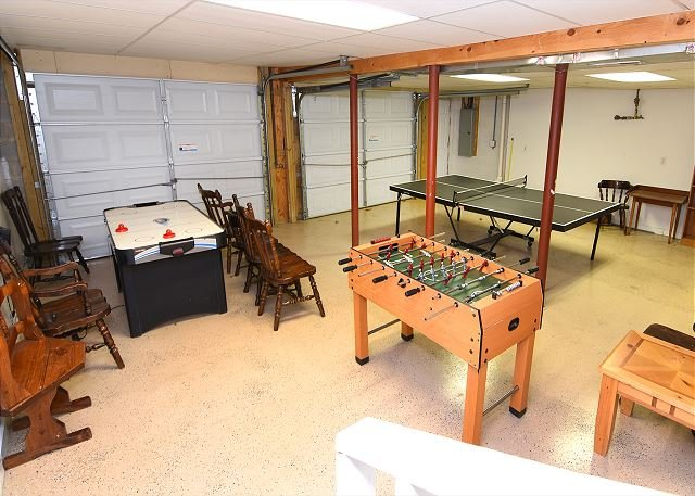 Sala giochi al piano di sotto