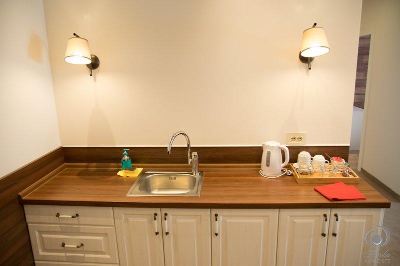 apartamento Fourbed, cocina
