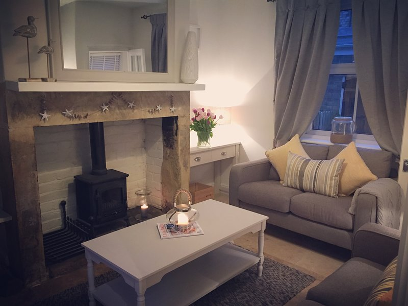 Sit back and relax in the comfortable stylish cottage lounge after a busy day exploring the area.