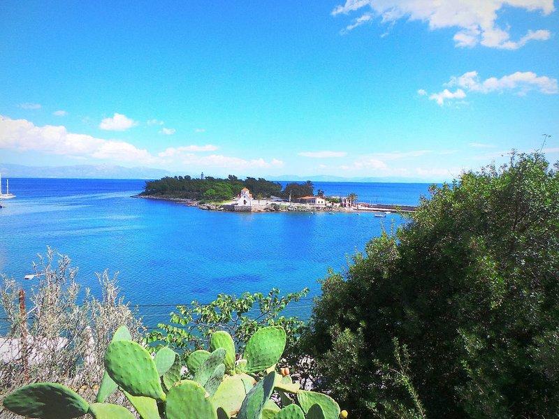 Gorgeous HiEnd 3bdr SEAview Flat - TopLocation, Ferienwohnung in Githio
