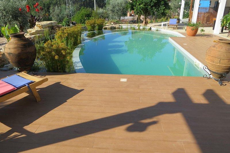 Bella piscina naturale