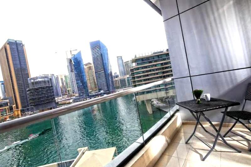1br Dubai Marina View, holiday rental in Jebel Ali