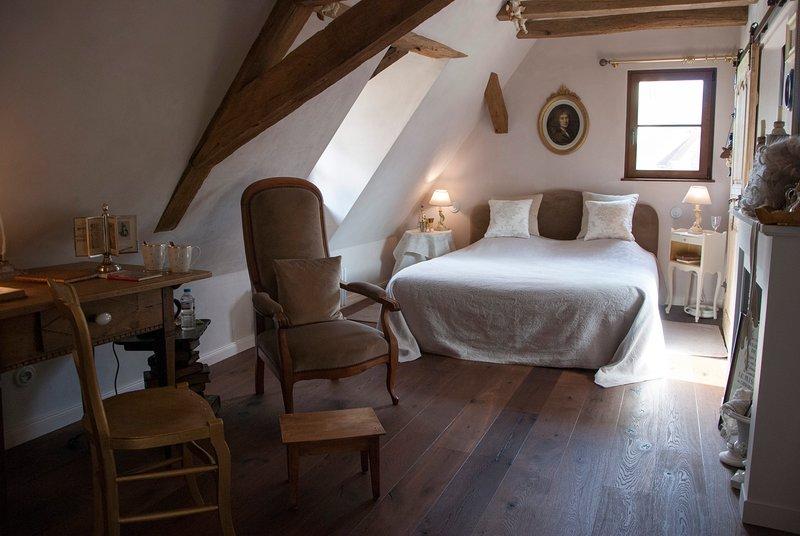 Les Lettres de mon Moulin - Chambre Molière, casa vacanza a Lichtenberg