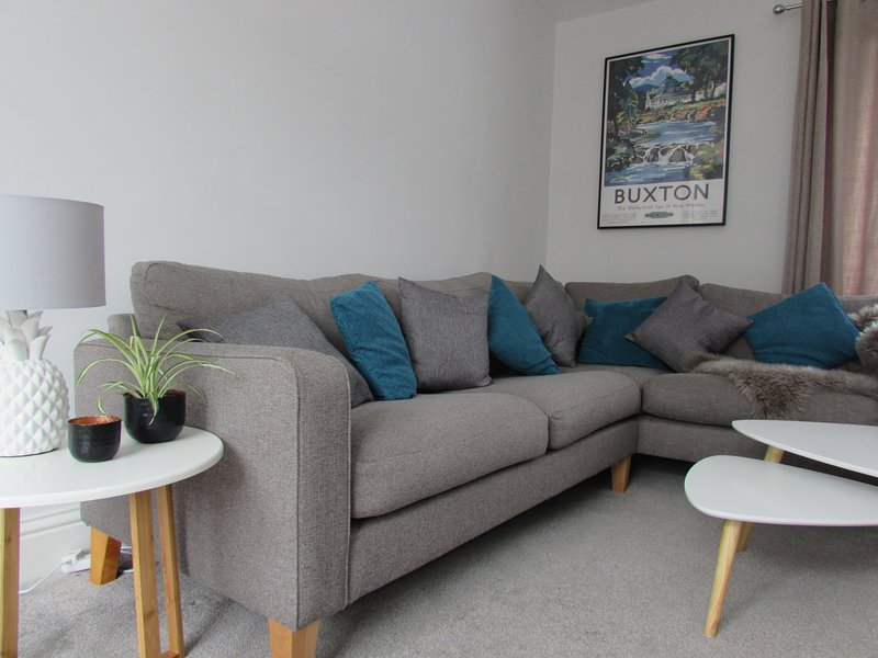 Living Room - comfortable seating with TV, DVD player and access to Netflix/Catch up.