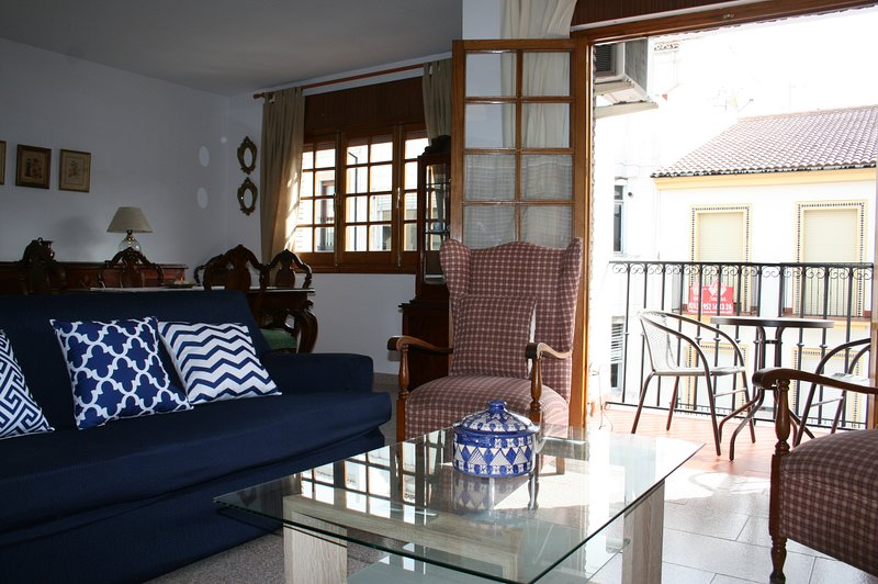Salon avec terrasse