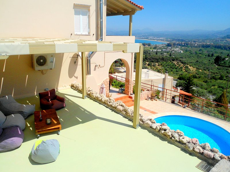 Aloe villa Chania Crete, vacation rental in Apokoronas