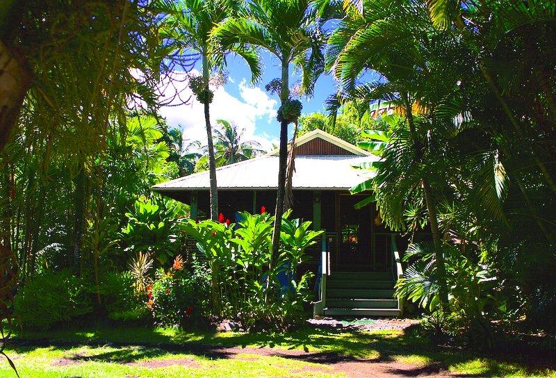 Hana Ocean Palms Bungalow, holiday rental in Hana