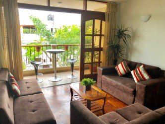 Chorrillos apartment 2 bedroom in a gated community, location de vacances à Pachacamac