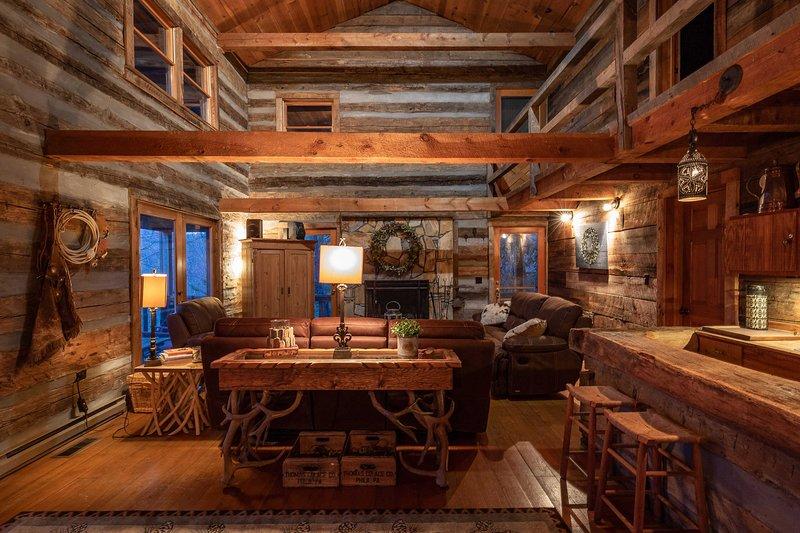 Stunning Hgtv Cabin In Wolf Laurel Resort W Sauna Updated