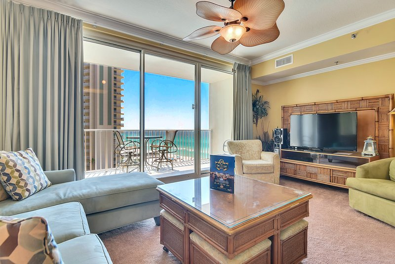 Shores of Panama 807-Living Area