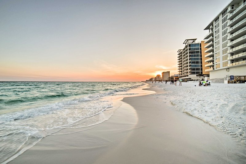From March to October, a shuttle will take you to the beach!