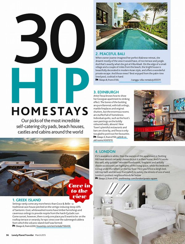 Lonely Planet Hip Homestay!