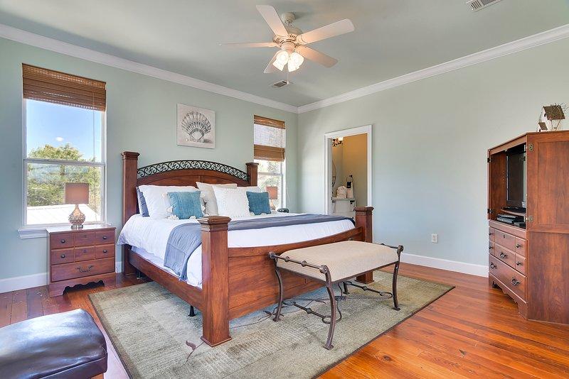 Beach Life Bliss-sovrum med king size-säng
