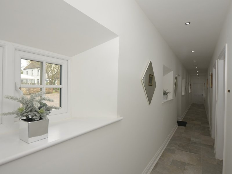 Lovely light and airy hallway