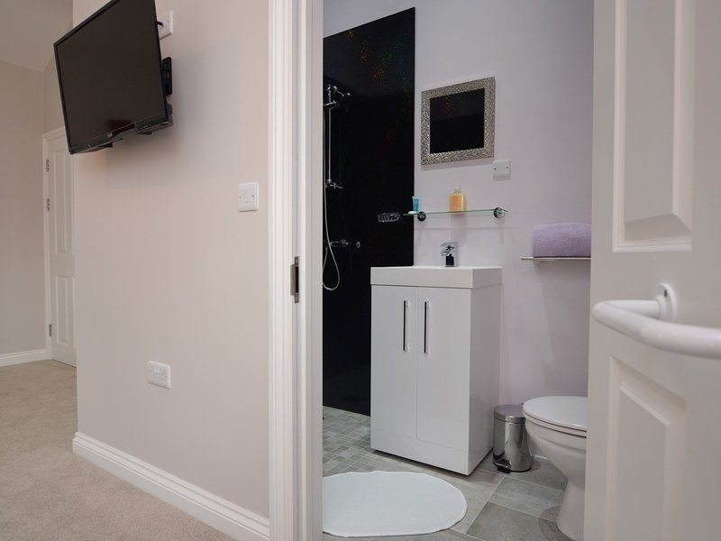Orchid Room en-suite shower room